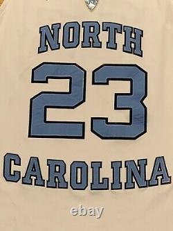 Jordan Elite NCAA Michael Jordan UNC Tar Heels Authentic Dri-Fit Jersey Adult XL