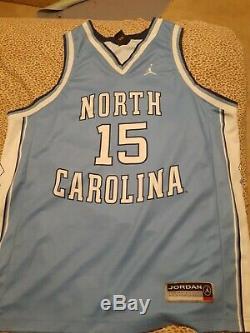 Jordan Nike UNC North Carolina Vince Carter #15 XL Basketball Jersey, Tar Heels