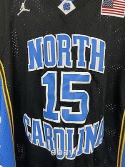 Jordan UNC North Carolina Tar Heels Vince Carter #15 Basketball Jersey Size L