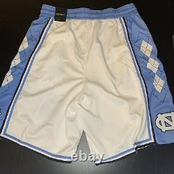 Jordan UNC Tarheels Basketball Shorts Mens Size XL White Blue CD3170-100 New