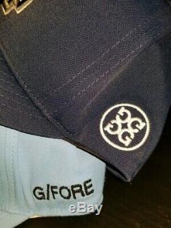 LOT of 2 G/FORE GOLF Snapback Mens HAT golfing unc tarheels cap flexfit