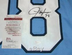 Lawrence Taylor Autographed Signed Unc North Carolina Tar Heels #98 Jersey Jsa