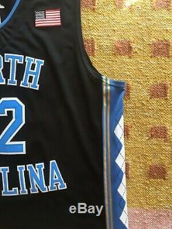 Luke Maye Signed Autograph UNC North Carolina Tar Heels Jersey NCAA USA NBA