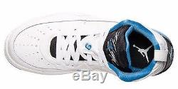 Men's Jordan Oympic 9 Flight 9.5 Off Court Shoes UNC Legend Blue Sz 13 Tar Heel