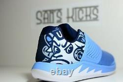 Men's NIKE JORDAN Grind 2 UNC North Carolina Tar Heels NCAA Sneaker AT8013-401