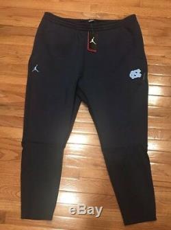 Men's Nike Jordan Carolina UNC Tar Heels Pants 4XL XXXXL NWT $130 Navy