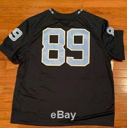 Men's Nike Jordan Navy #89 North Carolina UNC Tar Heels Football Jersey NWT 2XL
