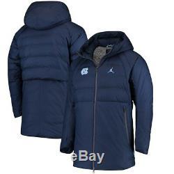 Men's Nike Jordan UNC North Carolina Tar Heels Coat Jacket 2XL XXL NWT $300