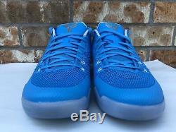 Men's Nike Kobe XI 11 TB Promo UNC Carolina Blue Tar Heels Shoes 856485-443