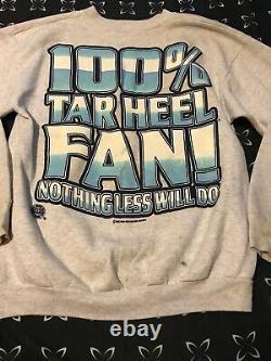 Mens Lee Cotton Blend Vintage Still a Tarheel fan RARE UNC Tar Heels Logo sz M