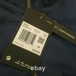 Mens Nike Jordan Jumpman UNC Tar Heels Light Puffer Jacket Navy 2XL CQ7689-414