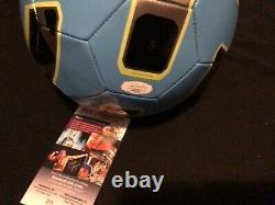 Mia Hamm Signed Soccer Ball Unc Tar Heels Womens Team USA Jsa Coa Proof