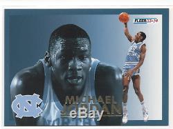 Michael Jordan 2013-14 Fleer Retro Final Four Stars #24 Unc Tar Heels Rare Sp