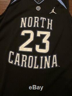 Michael Jordan UNC Black Jersey North Carolina Tarheels Size XL