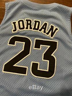 Michael Jordan UNC Carolina Jersey North Carolina Tarheels Size Large