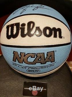 Michael Jordan Wheaties Box Signed NCAA UNC North Carolina Tar Heels Basketball