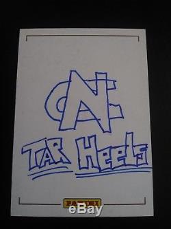 Mitchell Trubisky 2017 Panini Original Sketch Card Auto #1/1 Bears UNC Tar Heels