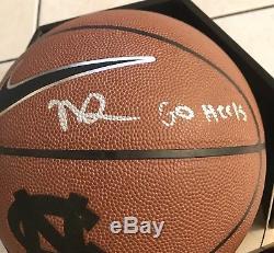 NASSIR LITTLE UNC Tar Heels North Carolina Signed Autograph Basketball MVP
