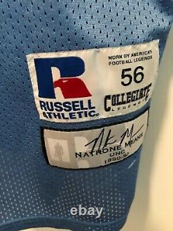 NATRONE MEANS JERSEY MENS 56 XXXL 3XL UNC TARHEELS CHARGERS 80s SEWN