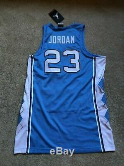NEW Nike UNC Tar Heels Michael Jordan Stitched Basketball Jersey NWT $150 Medium