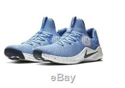 NIKE Free TR8 UNC North Carolina Tar Heels Logo Blue Running Shoes Mens AR0407