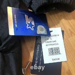 NWT $160 UNC Tarheels Retro Starter Windbreaker Jacket Sz MENS Small Blue Black