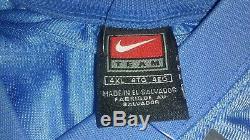 NWT Deadstock VTG Nike Lawrence Taylor 98 UNC Tar Heels Sewn Football Jersey 4XL