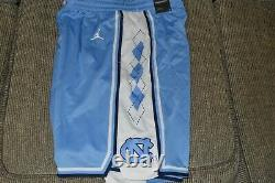 NWT Men's UNC Carolina Tar Heels Nike Jordan Limited Basketball Shorts (L)