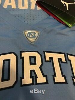 NWT Mens Jordan Brand UNC Tar Heels Jordan 23 Stitched Basketball Jersey Medium