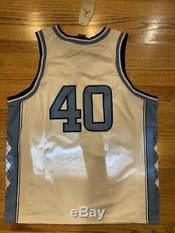 NWT New JORDAN Brand UNC Tar Heels #40 Basketball Jersey Size Large XL 48 NICE