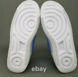 NWT Nike Air Force 1 Sage Low UNC Tar Heels Blue AR5339-400 Womens 6.5