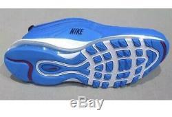NWT Nike Air Max 97 Premium PRM SE Running UNC Tar Heel Blue 312834-401 -SZ-12