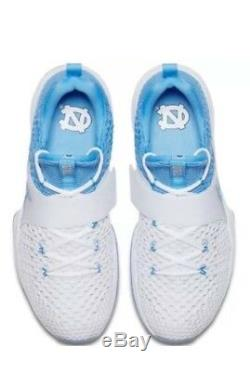 NWT Nike Jordan Trainer 2 Flyknit UNC Tarheels Blue White 921210-106 SZ-18