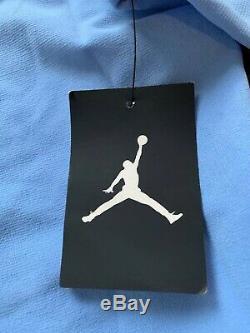 NWT Nike UNC North Carolina Tar Heels Shield Jordan 1/4 Zip Pullover Large $180