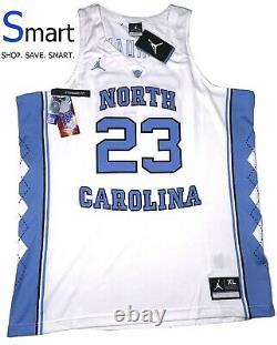 NWT XL-2XL MEN Nike Michael Jordan ELITE UNC Tarheels Throwback Stitched Jersey