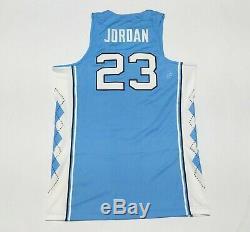 New Air Jordan UNC Tar Heels Jordan 23 Stitched Away Basketball Jersey Sz XL