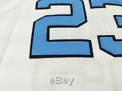 New Air Jordan UNC Tar Heels Jordan 23 Stitched Home Basketball Jersey Sz L