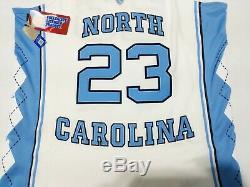 New Air Jordan UNC Tar Heels Jordan 23 Stitched Home Basketball Jersey Sz XXL
