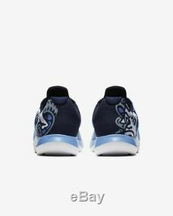 New Jordan Grind 2 UNC North Carolina Tar Heels NCAA Men's AT8013-401 Shoes SZ 9