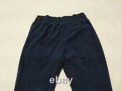New Men's Nike Air Jordan UNC Tarheels Therma Joggers Pants Blue Sz L Large
