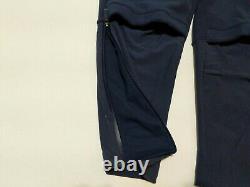 New Men's Nike Air Jordan UNC Tarheels Therma Joggers Pants Blue Sz XL