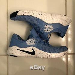 New Men's Sz 11 Nike Free Trainer TR 8 UNC North Carolina Tar Heels AR0407-400