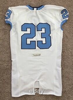 New! Nike Game Issued UNC Tar Heels Football Jersey #23 Pro Cut sz 46
