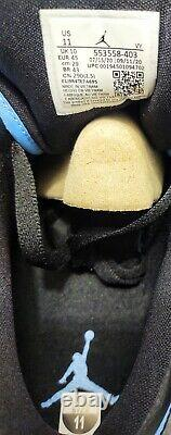 Nike Air Jordan 1 Low 553558-403 UNC University Blue Black New WithBox Size 11 DS