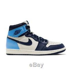 Nike Air Jordan 1 Retro High OG UNC Tar Heels Mens Size 11.5 Sneakers Shoes NIB