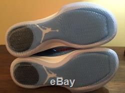 Nike Air Jordan 31 XXXI Low UNC North Carolina Tar heels 897564-407 Sz 9