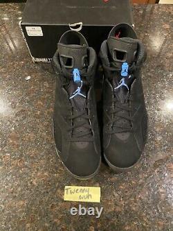 Nike Air Jordan 6 Retro Tar Heels, UNC 2017 Size 11