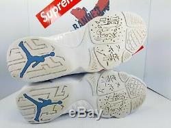 Nike Air Jordan 9 IX Low Pantone UNC TARHEELS SZ 11.5 832822-401