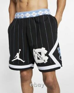 Nike Air Jordan NRG UNC Carolina Tarheels Fleece Shorts CD0133-010 Mens Sz L