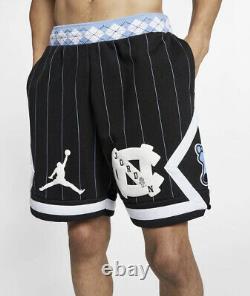 Nike Air Jordan NRG UNC North Carolina Tarheels Fleece Mens Shorts CD0133-010